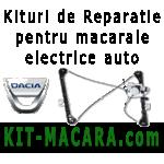Kituri de reparatie si piese pentru macarale si geamuri electrice auto - Dacia